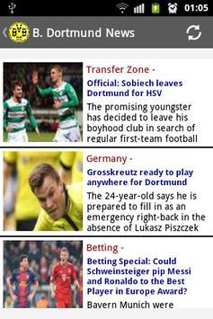 Borussia Dortmund News screenshot 1