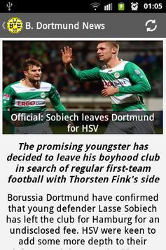 Borussia Dortmund News screenshot 2