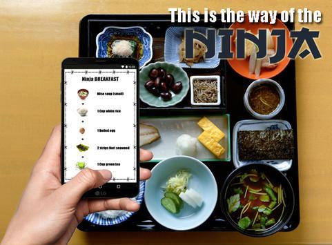 Super Ninja Diet Plan screenshot 2
