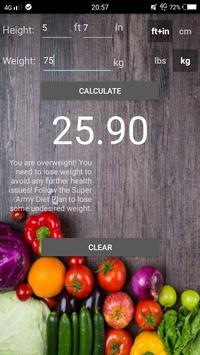 Super Army Diet Plan screenshot 2