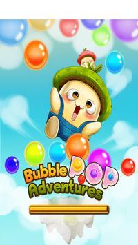 Bubble Popper Adventure-Puzzle Shooting poster