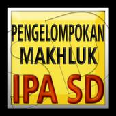 IPA SD Pengelompokkan Makhluk icon