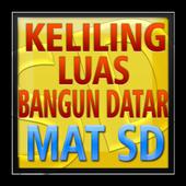 MAT SD Kel Luas Bangun Datar icon