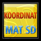Matematika SD Koordinat icon