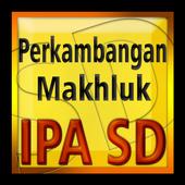 IPA SD Perkembangan Makhluk icon