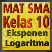 Matematika Kelas 10 Eksp Log icon
