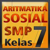 Matematika SMP Aritmatika Sos icon