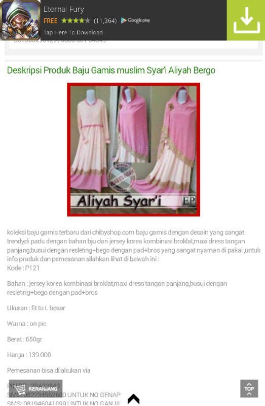 Baju Muslim Modern For Android Apk Download