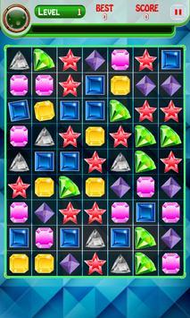 Jewel Mystery Match screenshot 1