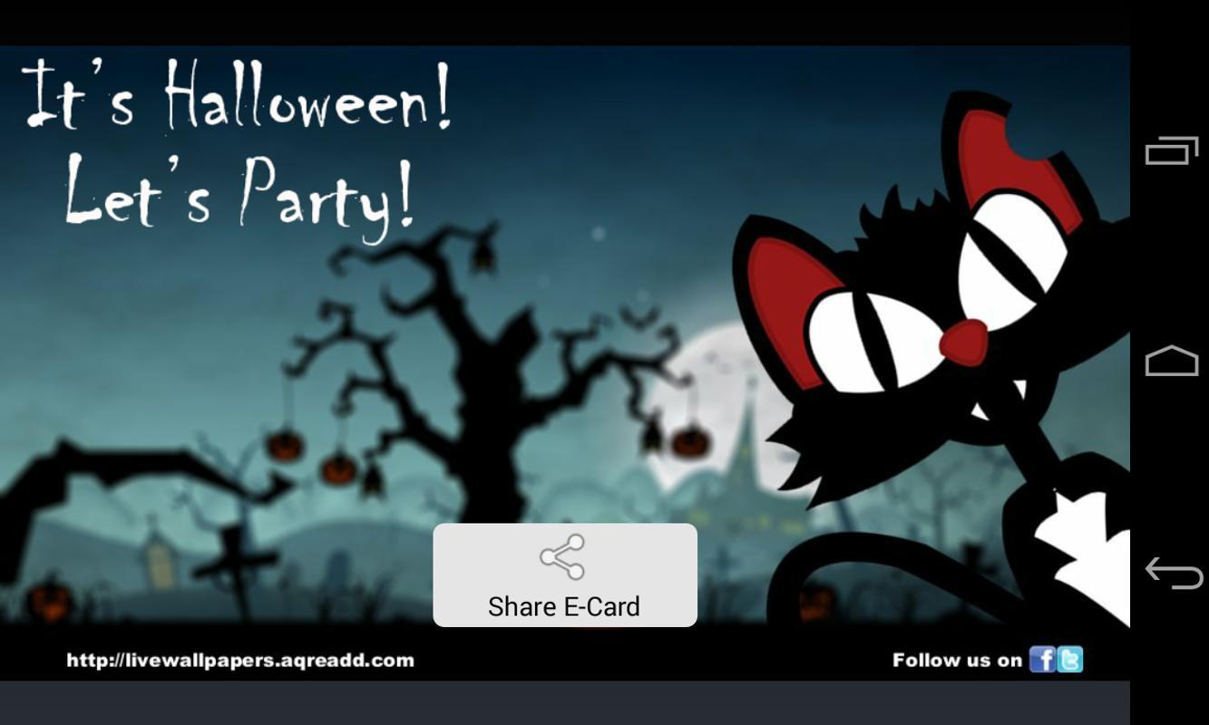 Halloween Greetings Apk