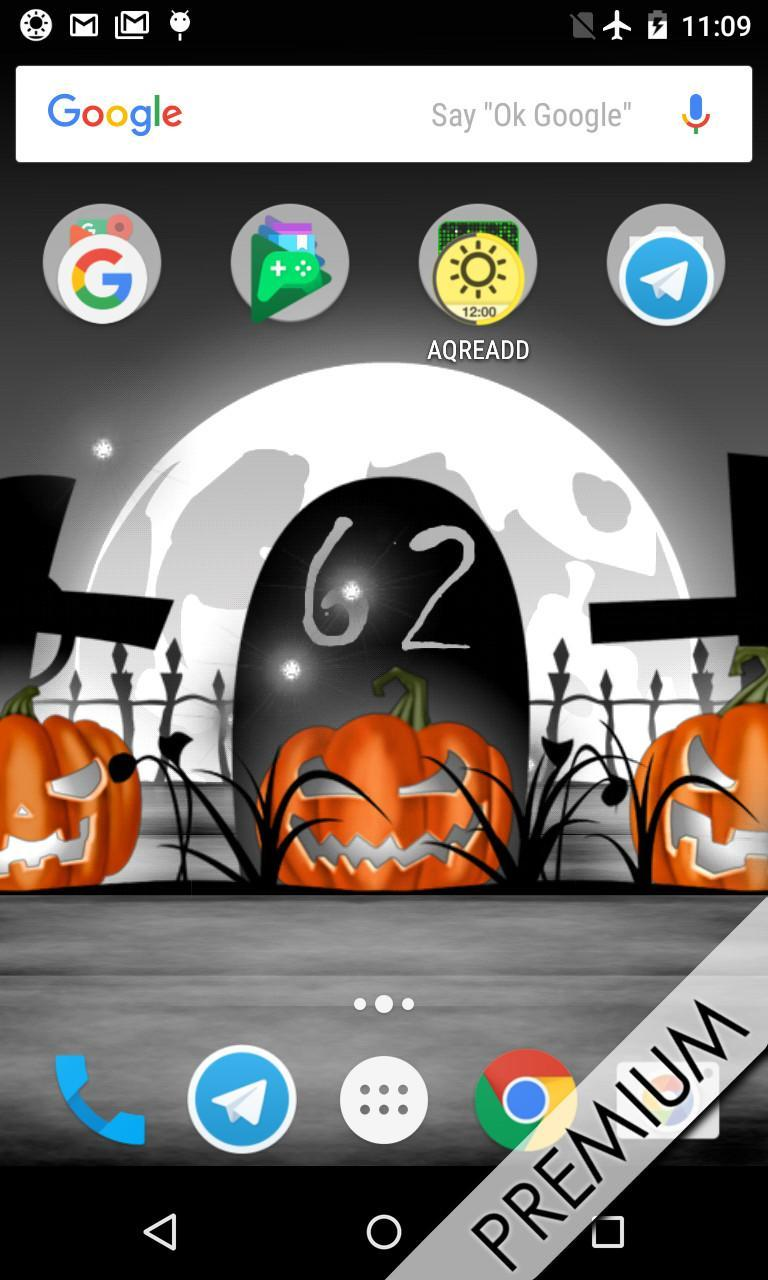 Halloween Live Wallpaper With Countdown And Sounds For Android Apk Download