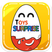 surprise eggs .. surprise toys icon