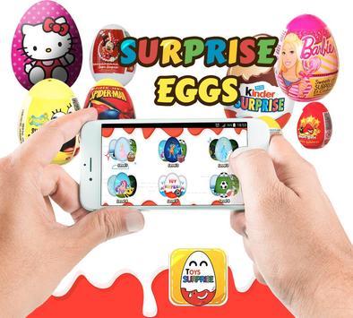 surprise eggs .. surprise toys poster