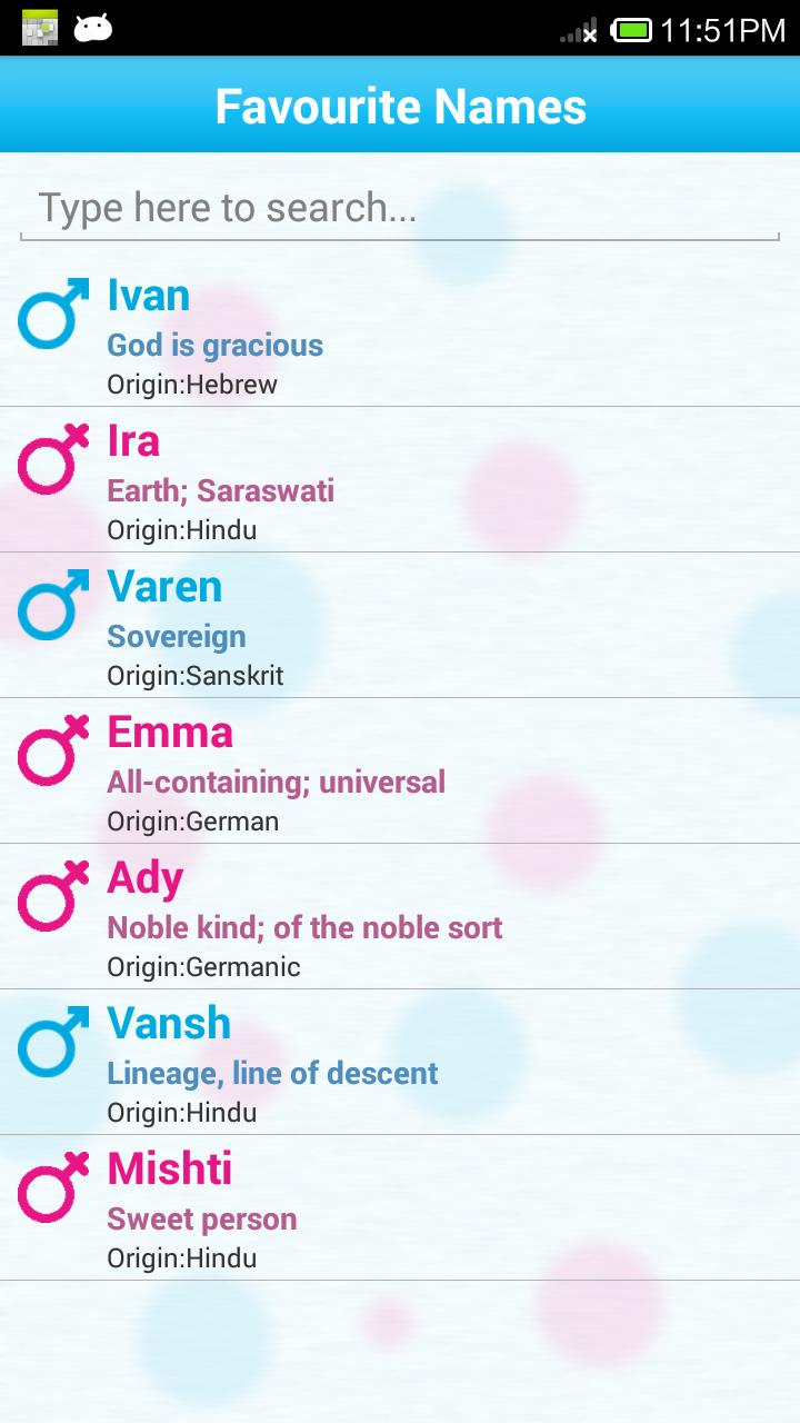 Baby Names and Meanings : FREE for Android - APK Download