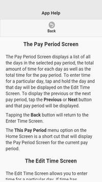 TimeBox@Work Work Time Keeper screenshot 23