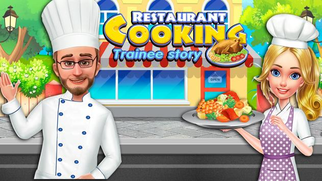 Restaurant Cooking Trainee poster