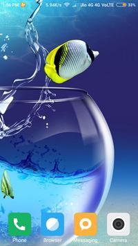Aquarium Fish Wallpaper poster