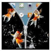 Aquarium Zipper Lock Free icon