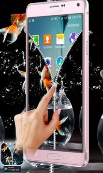 Aquarium Zipper Lock Free apk screenshot