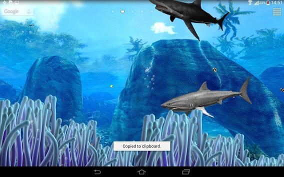 3D Aquarium Live Wallpaper poster