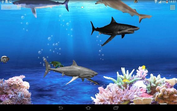 3D Aquarium Live Wallpaper apk screenshot