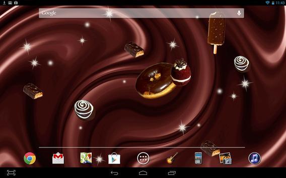 Chocolate Live Wallpaper apk screenshot