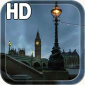 City London Night LWP icon