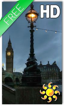 City London Night LWP poster