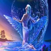 Violin  Angel Live Locksreen icon