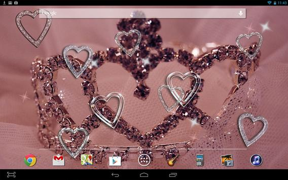 Hearts HD Live Wallpaper apk screenshot