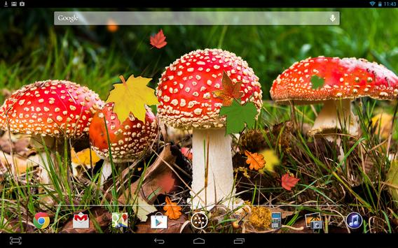 Autumn Leaves Mushroom LWP screenshot 2