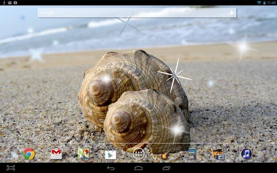 Sea shell Live Wallpaper screenshot 2