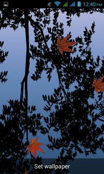 Sunset Livewallpaper HD Winter apk screenshot