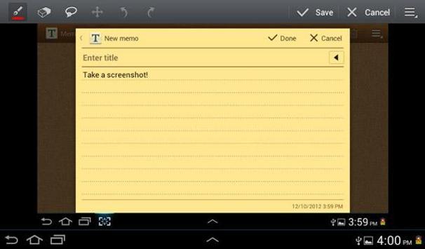 TestApp apk screenshot