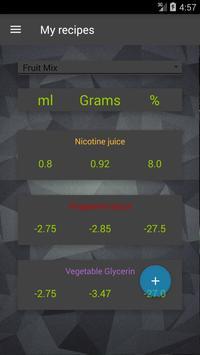 Vape: Calculadora E-Liquid e Coil imagem de tela 2