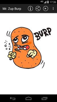 Mr. Zup Burp - Burps Funny screenshot 1