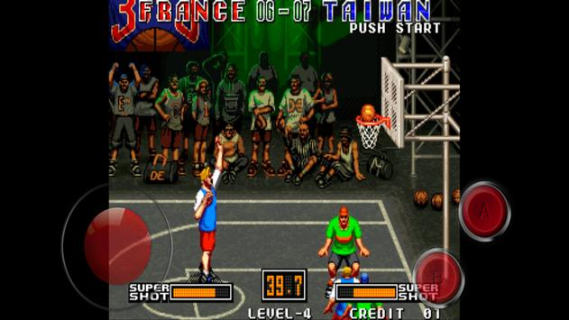 3V3 Basketball game screenshot 2