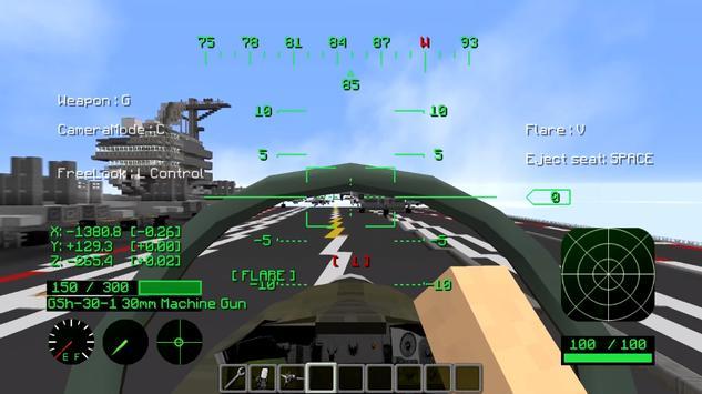 Airplane Mod Minecraft pe apk screenshot