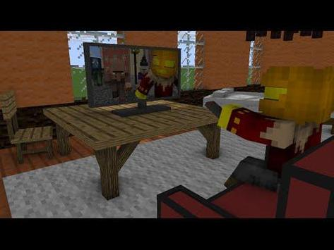 Furniture Ideas Minecraft PE apk screenshot
