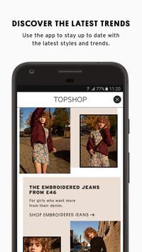 Topshop apk screenshot