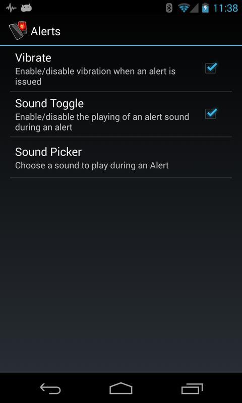 Sound picker.