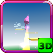 Unicorn Dash Run HD 3D icon