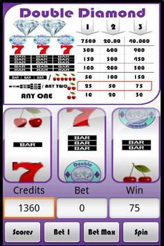 Slot Machine : Double Diamond apk screenshot