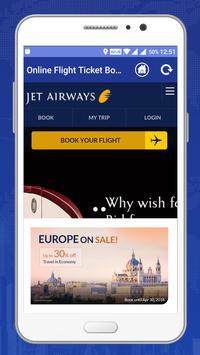 Online Flight Ticket Booking -  Air Ticket Booking apk screenshot