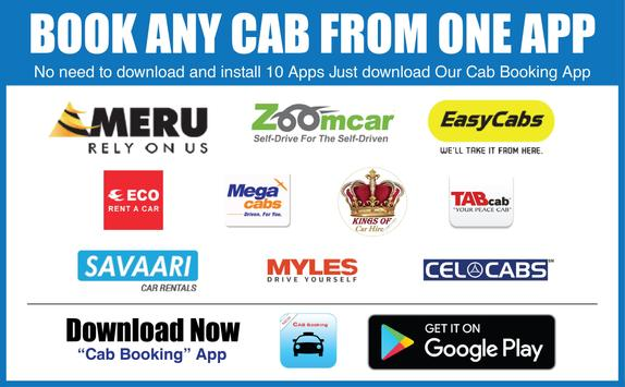 Cab Booking Online All In One poster