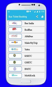 Online Bus Ticket Booking screenshot 1