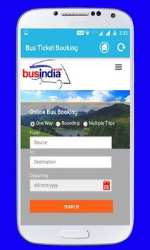 Online Bus Ticket Booking screenshot 2