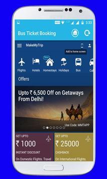 Online Bus Ticket Booking screenshot 4