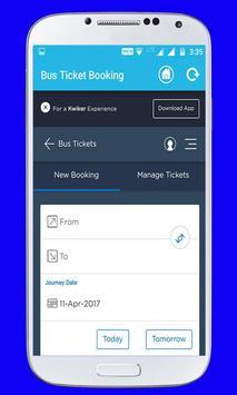 Online Bus Ticket Booking screenshot 7