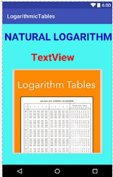 Logarithms screenshot 1